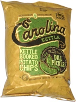 Carolina Kettle Cooked Potato Chips The Mama Gin Dill Pickle