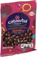 Catawaba Candy Co. Chocolate Covered Raisins