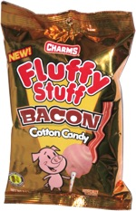 Charms Fluffy Stuff Bacon Cotton Candy