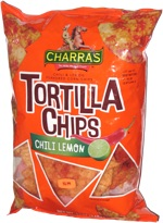 Charras Tortilla Chips Chili Lemon