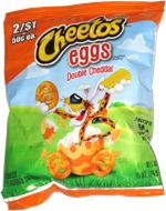 Cheetos Eggs Double Cheddar