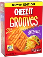 Cheez-It Grooves Loaded Cheesy Taco