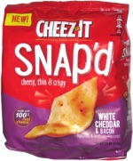 Cheez-It Snap'd White Cheddar & Bacon