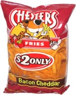 Chester's Fries Bacon Cheddar