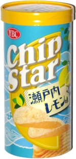 YBC Chip Star Potato Chips Lemon Flavor