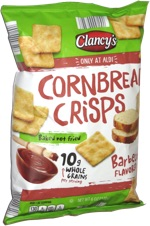 Clancy's Cornbread Crisps Barbecue Flavored