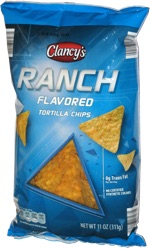 Clancy's Ranch Flavored Tortilla Chips
