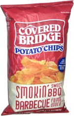 Covered Bridge Potato Chips Smokin' Sweet BBQ