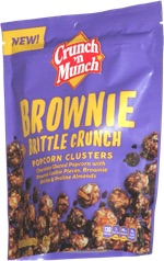 Crunch 'n Munch Brownie Brittle Crunch Popcorn Clusters