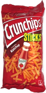 Crunchips Sticks o smaku Ketchup