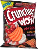 Crunchips Wow Paprika & Cream Pleasure