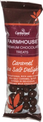 Cumberland Farms Farmhouse Premium Chocolate Treats Caramel Sea Salt Delights