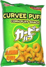 Curvee Puffs Cheese Flavor
