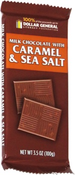 Dollar General Milk Chocolate with Caramel & Sea Salt