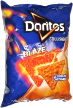 Doritos Collisions Blaze Ultimate Cheddar
