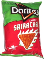 Doritos Screamin' Sriracha