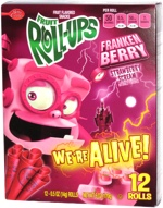Fruit Roll-Ups Franken Berry Strawberry Scream