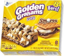 Golden Grahams Treats S'mores