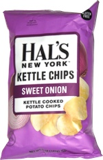 Hal's New York Kettle Chips Sweet Onion