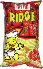 Honai Ridge Potato Chips Tomato