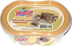 Hodja Halva with Cocoa
