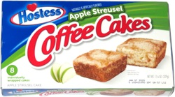 Hostess Apple Streusel Coffee Cakes