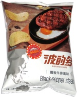 Hwa Yuan Potato Chips Black Pepper Steak
