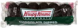Krispy Kreme Doughnuts Chocolate Dipped Krispy Juniors