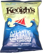 Keogh's Atlantic Sea Salt and Irish Cider Vinegar
