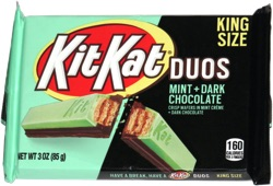 Kit Kat Duos Mint + Dark Chocolate
