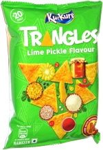 Kurkure Triangles Lime Pickle Flavour