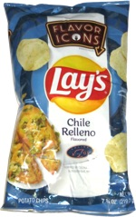 Lay's Flavor Icons Chile Relleno