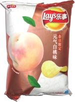 Lay's Spring Limited Edition Vitality and White Peach Flavor