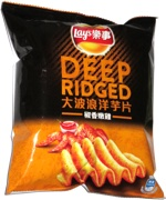Lay's Deep Ridged Tender Chicken with Pepper