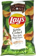 Lay's Flavor Icons Kettle Cooked New York Style Pizza