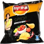 Lay's Spicy! Sha Sha Sauce