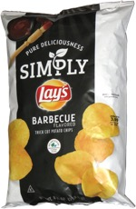 Simply Lay's Barbecue Flavored Thick Cut Potato Chips
