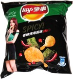 Lay's Spicy! Roasted Seaweed