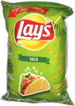 Lay's StrEATs of the World Taco