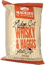 Mackie's of Scotland Ridge Cut Whisky & Haggis Potato Crisps