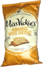 Miss Vickie's Farmhouse White Cheddar Kettle Cooked Potato Chips