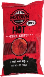 Motown Munchies Hot Corn Chips