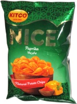 Nice Paprika Natural Potato Chips