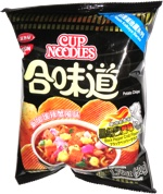 Nissin Cup Noodles Potato Chips Black Pepper Crab Flavor