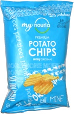My Nouria Premium Potato Chips Wavy Original