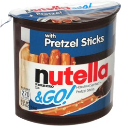 Nutella & Go! with Pretzel Sticks