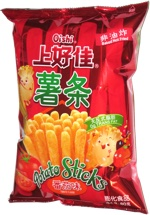 Oishi Potato Sticks Tomato Flavor