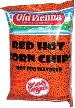 Old Vienna Red Hot Corn Chips
