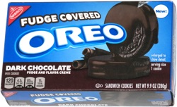Fudge Covered Oreo Dark Chocolate