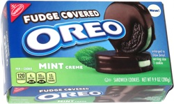 Fudge Covered Oreo Mint Creme